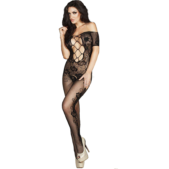 Bodystocking CR3525 - Kinky jurkjes - Bodystockings - Chilirose