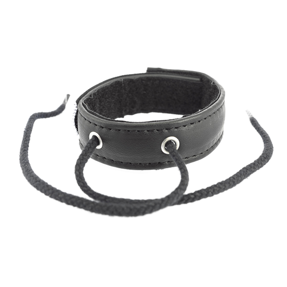 Leather Cock Ring With Velcro