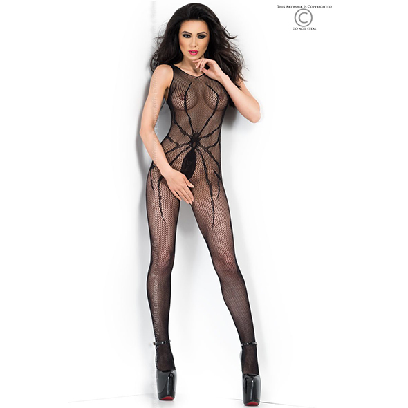 Bodystocking CR3802 - Kinky jurkjes - Sexy Bodystockings - Chilirose
