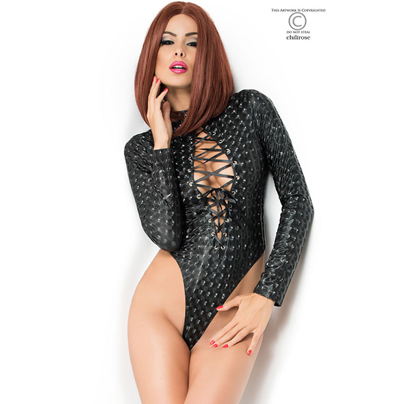 CR-3814 Body with long sleeves / 3D effect