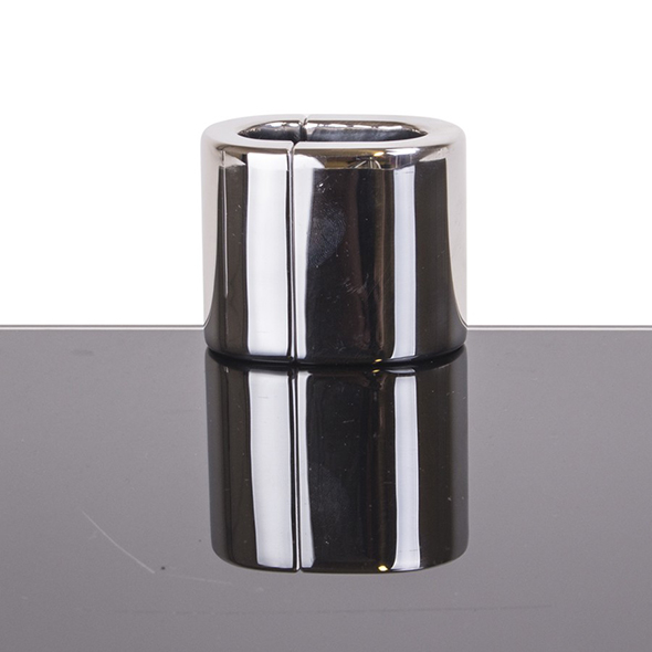 Ovale ballstretcher Kopen - Metalen sexspeeltjes bestellen - Bdsm Shop