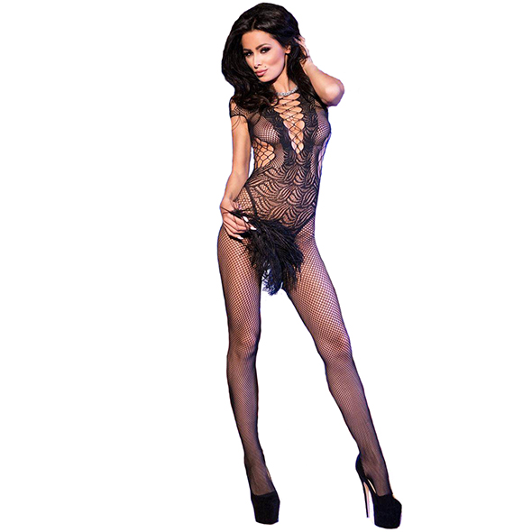 Bodystocking CR4102 - Kinky jurkjes - Bodystockings - Chilirose
