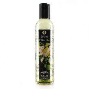 Shunga Massage Olie Organica Groene Thee - Desireshop.nl - Alkmaar